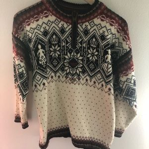 Dale Of Norway Pullover 1/4 Zip Sweater